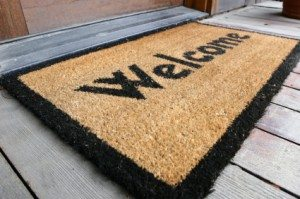 guest blog welcome mat