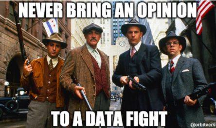opinion vs data