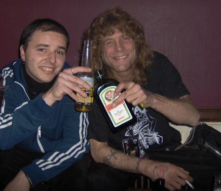Luciano and Steven Adler