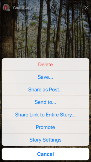 Share a Link to Your Story on Instagram