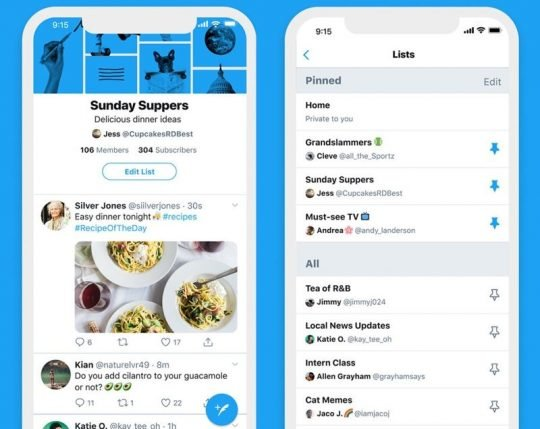 Twitter Rolls Out Customizable Timelines