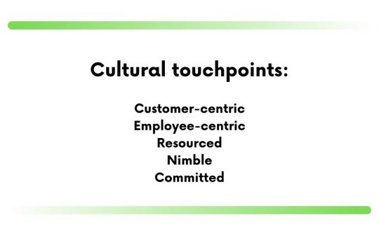 company's culture statement